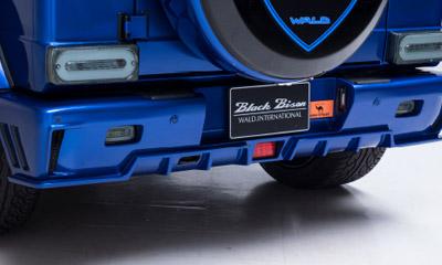 Задний бампер WALD Black Bison G63 для Mercedes G-class W463
