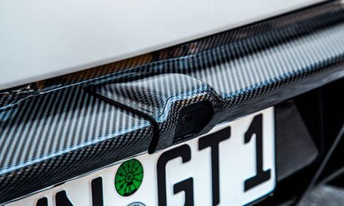 Накладка на камеру заднего вида (карбон) Novitec для Lamborghini Huracan LP 570