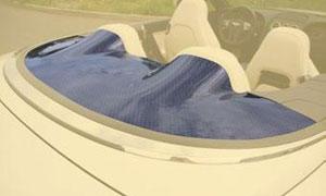Накладка за задними сиденьями (карбон) Mansory для Bentley Continental GT II