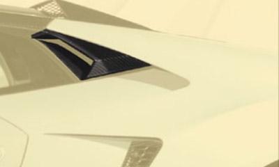 Задний воздухозаборник (карбон) Mansory Torofeo для Lamborghini Huracan
