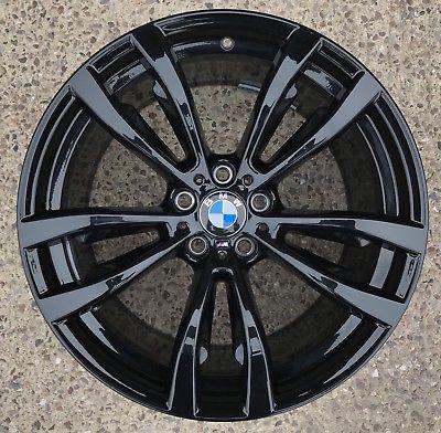 Легкосплавное дисковое колесо (сдвоенные спицы) 469 для BMW X6 F16 (код 36118064895)