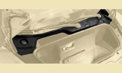 Накладка багажного отсека верхняя (карбон) Mansory Torofeo для Lamborghini Huracan