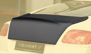Накладка на крышку багажника (карбон) Mansory для Bentley Continental GT II