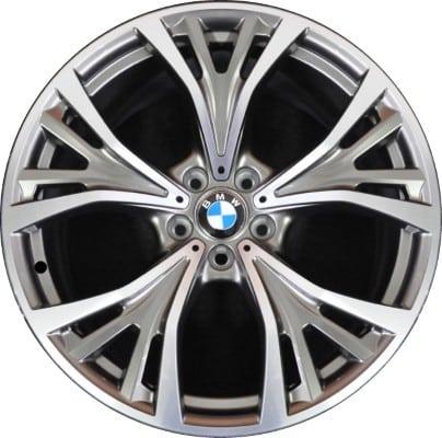 Легкосплавный колесный диск (Y-образные спицы) 627 для BMW X6 F16 (код 36116863101)