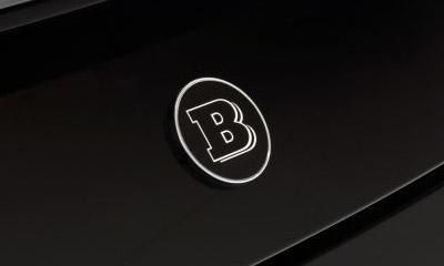 Эмблема на крышку багажника Brabus E63 для Mercedes E-class Coupe C238