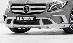 Спойлер переднего бампера Brabus для Mercedes GLA-class X156