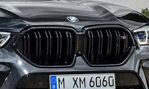 Решетка радиатора для BMW X6 G06 в X6M