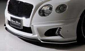 Накладка на передний бампер (с LED-оптикой) WALD Black Bison для Bentley Continental GT II