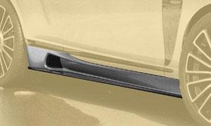 Пороги (с карбоновыми элементами) Mansory для Bentley Continental GT II
