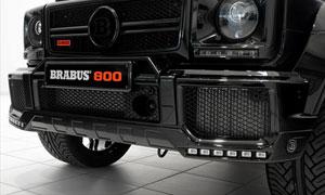 Спойлер переднего бампера (с LED-оптикой) Brabus V12 для Mercedes G-class W463