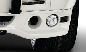 Противотуманная оптика Hamann для Mercedes G-class W463