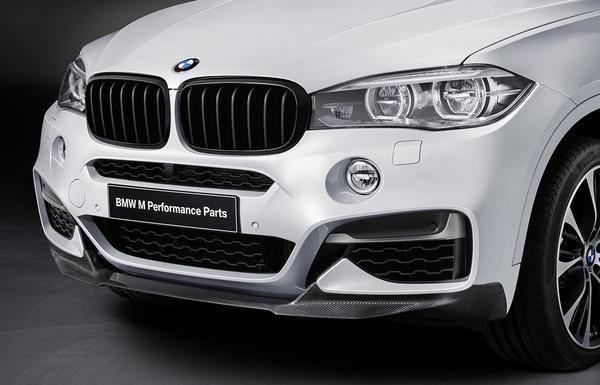 Передняя насадка (карбон) M Performance для BMW X6 F16 (код 51192357210)