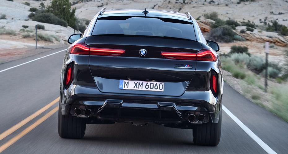 Задний бампер для BMW X6 G06 в X6M