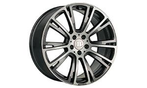 Колесный диск Monoblock R Liquid Titanium Brabus для Mercedes A-class W177