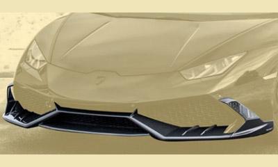 Накладка на передний бампер (карбон) Mansory для Lamborghini Huracan