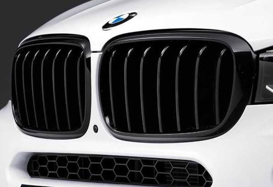 Передняя декоративная решетка радиатора M Performance для BMW X6 F16 (код 51712334708)