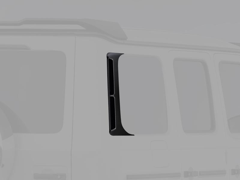 Карбоновые накладки на окна