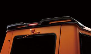 Спойлер на крышу (со стоп-сигналом) WALD Black Bison G63 для Mercedes G-class W463