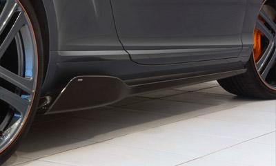 Накладки на пороги (карбон) Startech для Bentley Continental GT II