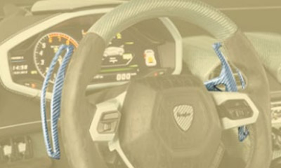 Лепестки переключения передач (карбон) Mansory Torofeo для Lamborghini Huracan