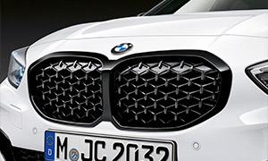 Решетка радиатора (черная) M Performance для BMW 1 Series F40