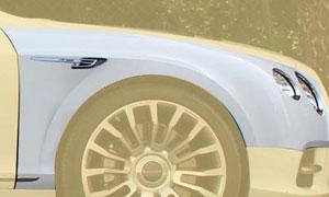 Передние крылья Flying Spur Look Mansory для Bentley Continental GT II
