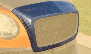 Решетка радиатора Race (под покраску / карбон) Mansory для Bentley Continental GT II