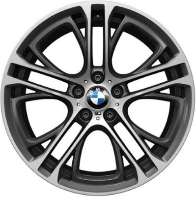 Легкосплавный колесный диск (сдвоенные спицы) 310 для BMW X6 F16 (код 36116854565)