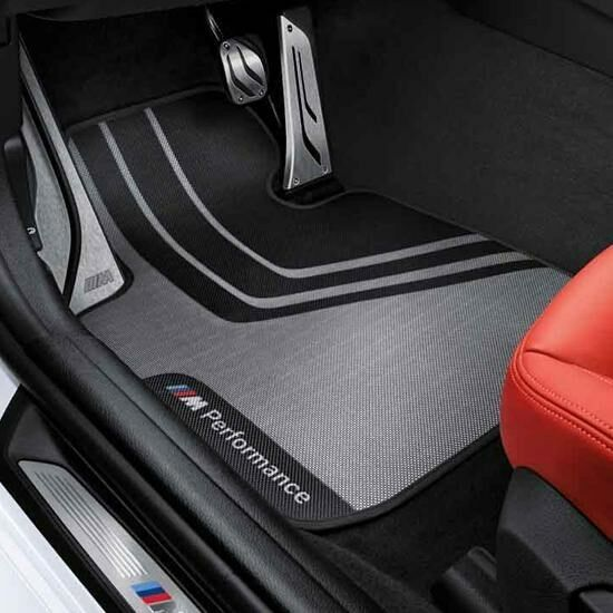 Ножные коврики M Performance (задние) для BMW 2 Series F22 (код 51472409930)