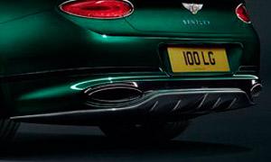 Диффузор заднего бампера (карбон) Mulliner для Bentley Continental GT III