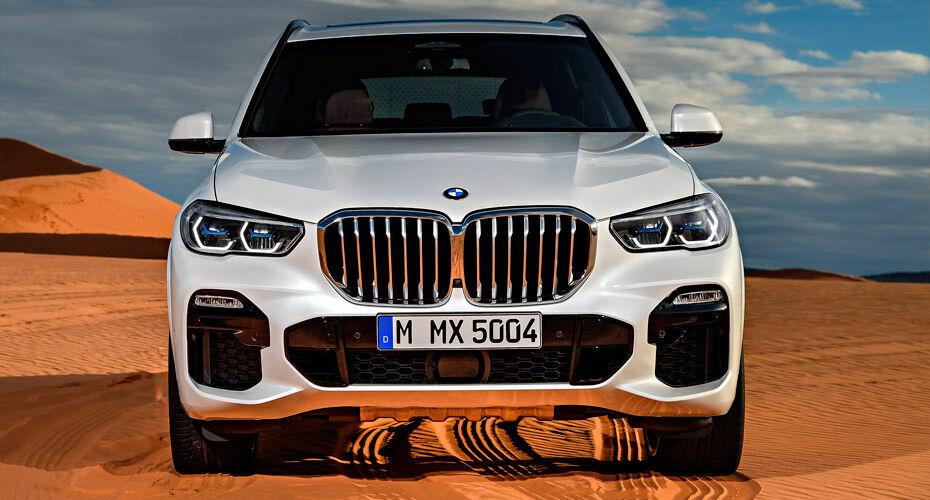 Передний бампер в сборе с решетками М-Sport для BMW X5 G05 (код 51118099125)