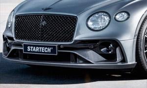 Передний бампер (с карбоновыми элементами) Startech для Bentley Continental GT III