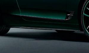 Накладки на пороги (карбон) Mulliner для Bentley Continental GT III