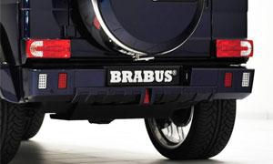 Задний бампер NEW (с LED-оптикой) Brabus V12 для Mercedes G-class W463