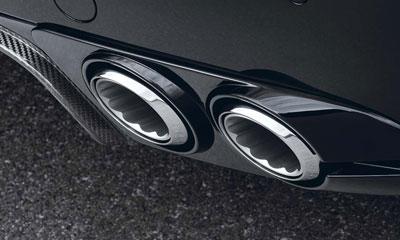 Вставки в задний бампер (с насадками) Startech для Bentley Flying Spur II