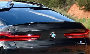 Спойлер на крышку багажника для BMW X6 G06 в X6M