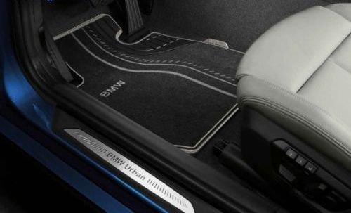 Текстильные ножные коврики Urban (задние) для BMW 2 Series F22 (код 51472297429)