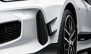 Накладки на передний бампер M Performance для BMW 1 Series F40