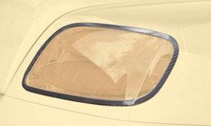 Накладки на задние фонари (карбон) Mansory для Bentley Continental GT II