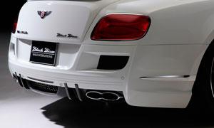 Задний бампер (со стоп-сигналом) WALD Black Bison для Bentley Continental GT II