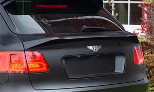 Нижний спойлер на крышку багажника (карбон) Kahn Design для Bentley Bentayga