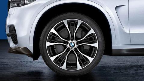Легкосплавный колесный диск (сдвоенные спицы) 599M для BMW X6 F16 (код 36116859424)