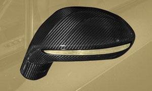 Накладка на зеркала (карбон) Mansory для Bentley Continental GT II