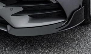 Накладки на передний бампер Brabus для Mercedes A-class W177