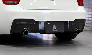 Диффузор заднего бампера (карбон) 3D Design M Sport для BMW 1 Series F20