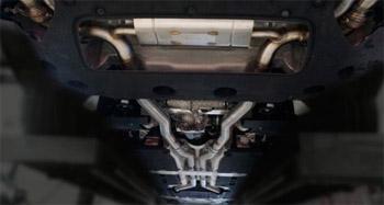 Спортивная выхлопная система Mansory для Rolls-Royce Cullinan