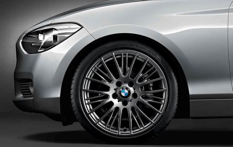 Легкосплавный колесный диск (радиальные спицы) 388 для BMW 1 Series F20/F21 (код 36116796219)