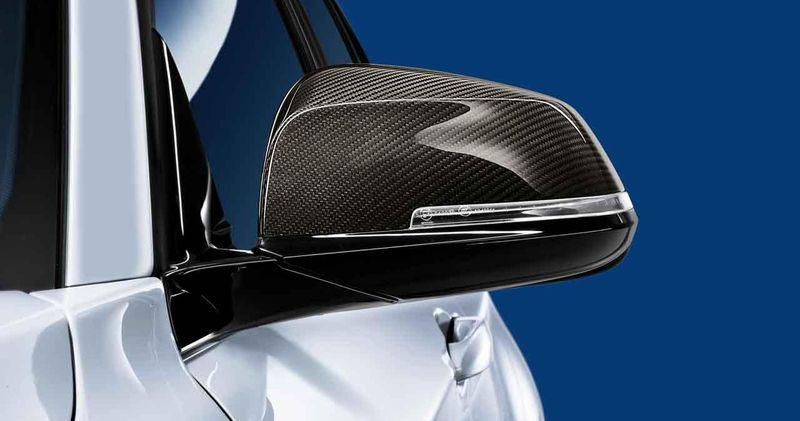 Обтекатель наружного зеркала (карбон) M Performance для BMW 1 Series F20/F21 (код 51162211904)