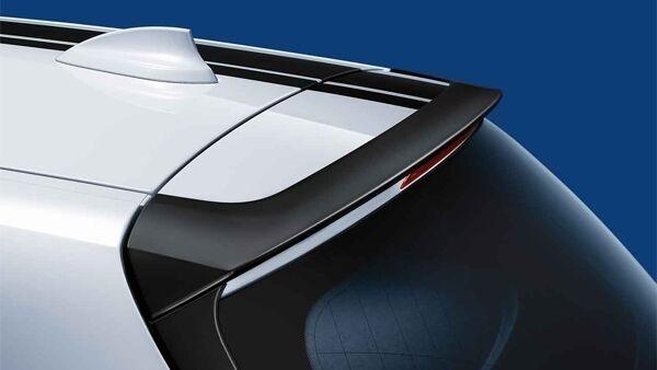 Задний спойлер (черный матовый) M Performance для BMW 1 Series F20/F21 (код 51622211888)