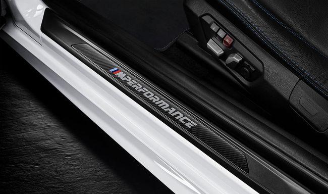 Накладка порога CFK M Performance для BMW 2 Series F22 (код 51472457829)